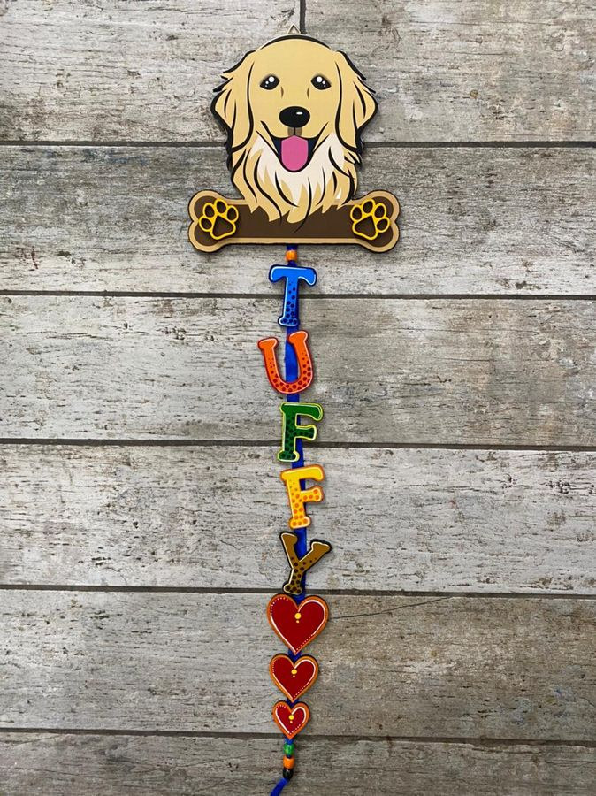 Dog Name Plate For Dog House  Dog Nameplate