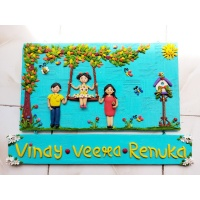 Customize Family Nameplate For Home  Family nameplate for home