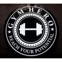 GYM LED Logo - Customizable