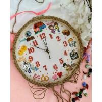 Hand Embroidered Theme Framed Clocks - Love Theme-2