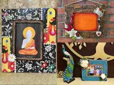 Handmade Designer Photo Frames for Home Decor Gifts