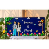 best wooden nameplate for home