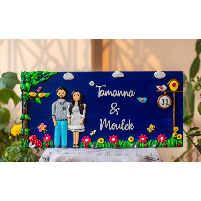 Top Wooden Nameplate Designs for Home Online Hitchki best wooden nameplate for home