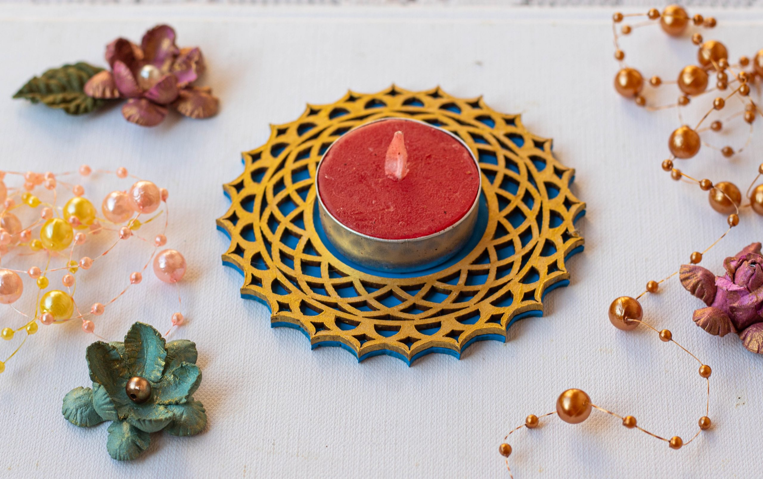 Diwali Decorative Tea Light Holders  Diwali Decorative Tea Light Holders