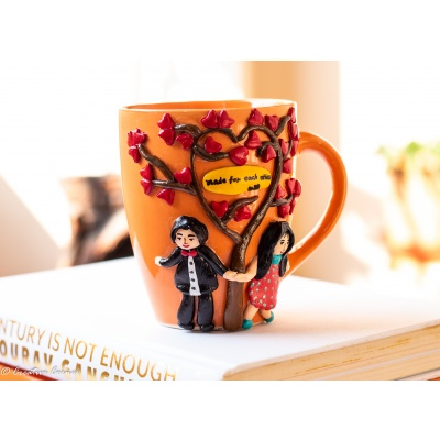 Creative Corner Couple Themed Coffee Mug  Love themed Coffee Mug