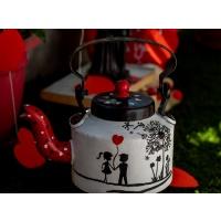 Love themed Handpainted Kettle
