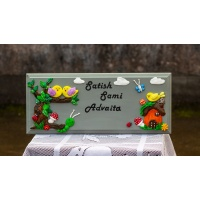 Nature themed Nameplate
