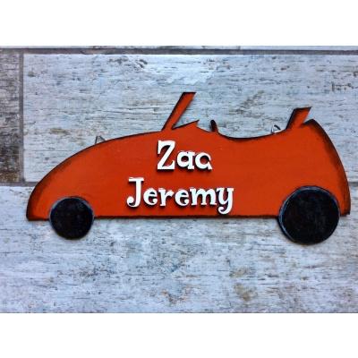 Open Car Boys Nameplate  Open Car Boys Nameplate
