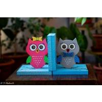 Creative Corner Birdhouse themed nameplate  Owl themed book end
