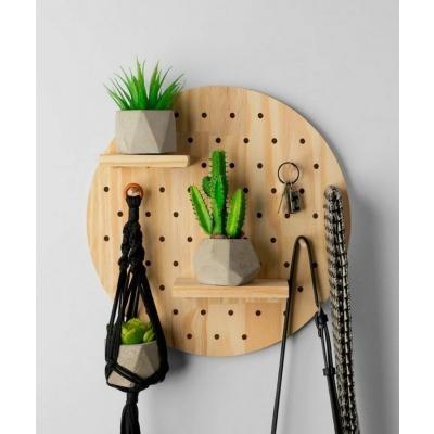 Customized Peg Board For Wall Decor  wall peg board
