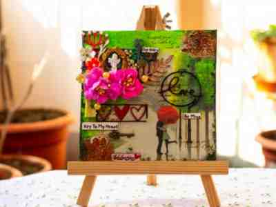 Personalized and Customized Handmade Designer Canvas Art
