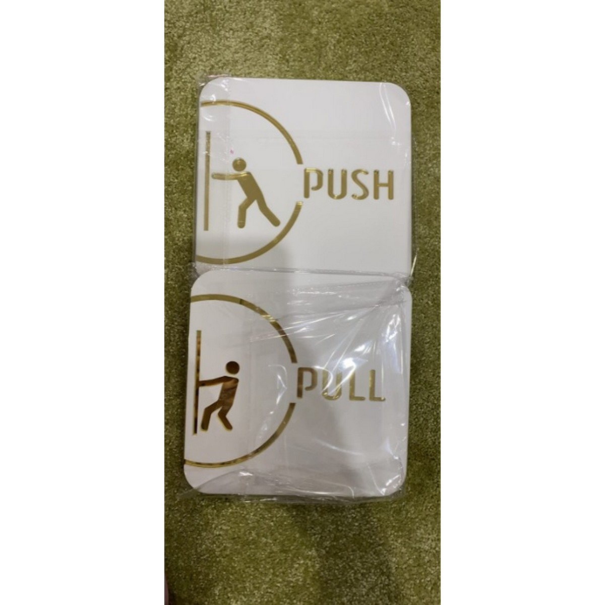 PushPull Acrylic Door Signages  PushPull Acrylic Door Signages 3