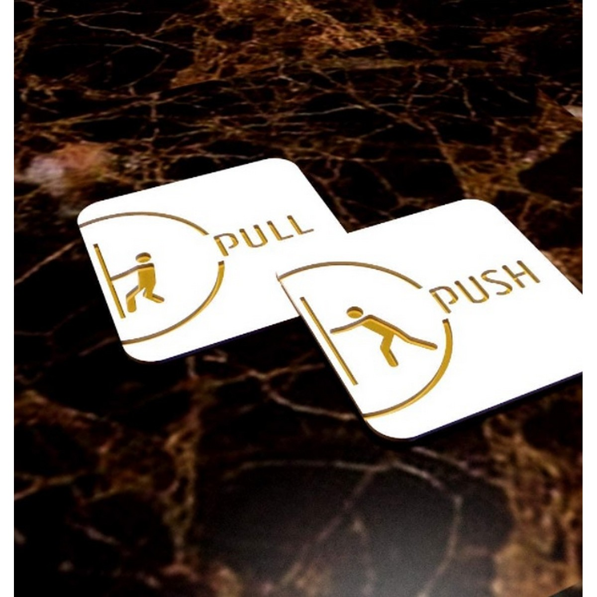 PushPull Acrylic Door Signages  PushPull Acrylic Door Signages 5