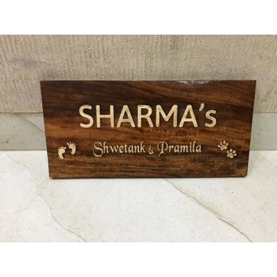 Personalized Wooden Nameplates In Jaipur Engraved nameplate engraved nameplate