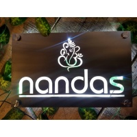 Stainless Steel 304 Light Name Plate