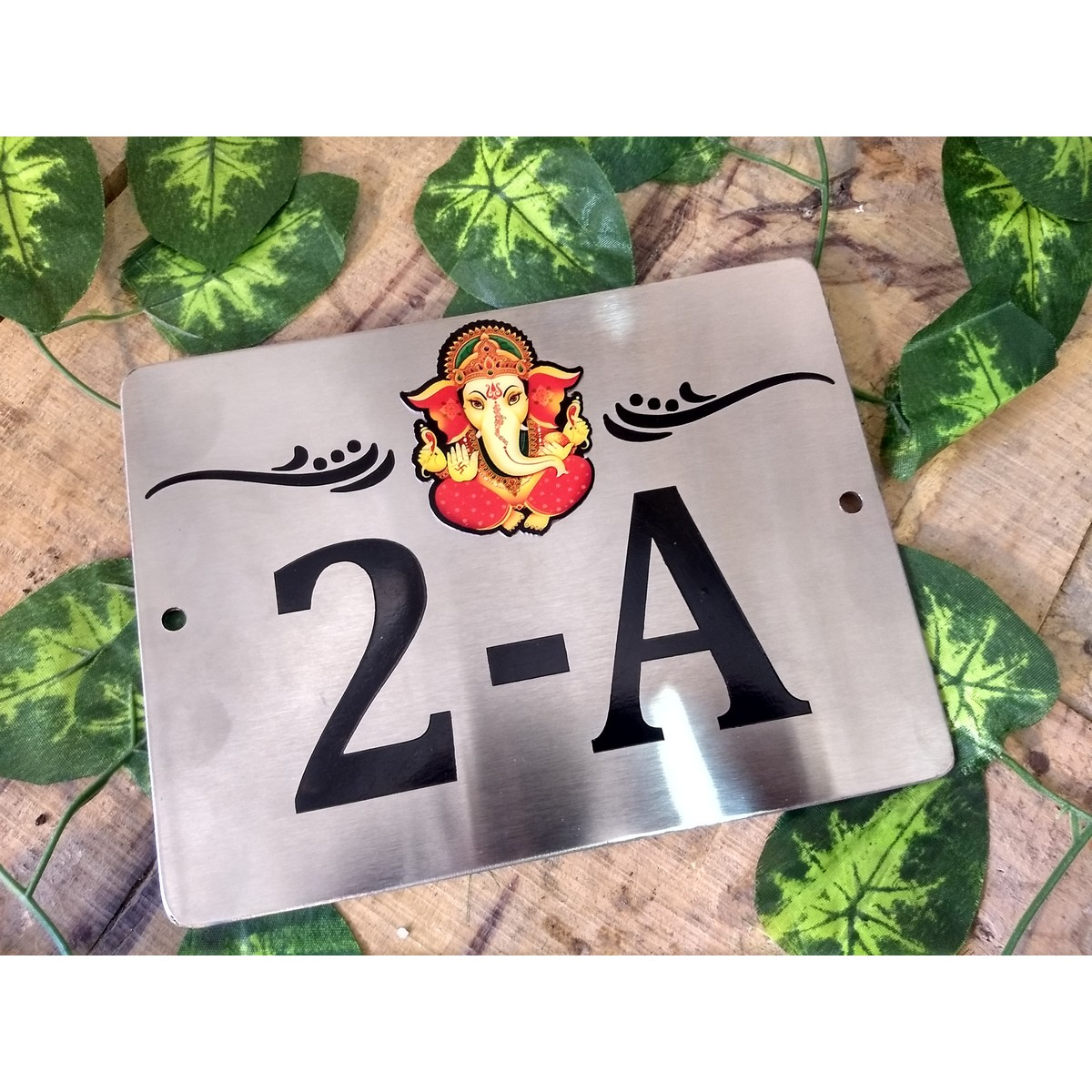 Stainless Steel Laser Cut Name Plate  SS 304  Stainless Steel Laser Engraved Name Plate  SS 304 2