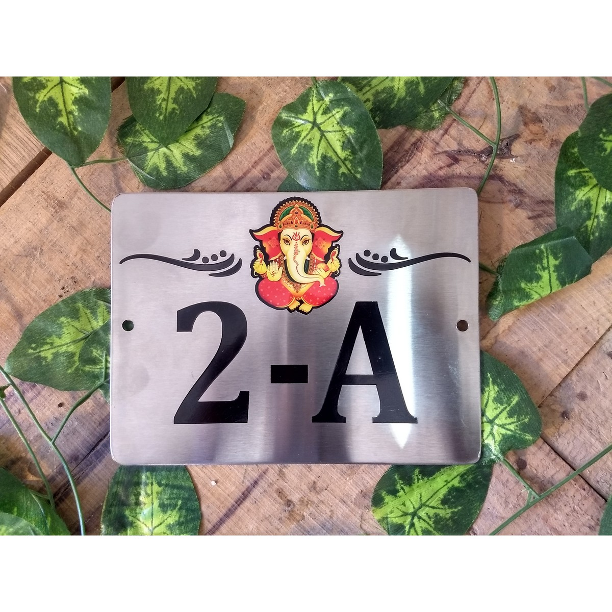 Stainless Steel Laser Engraved Name Plate - SS 304