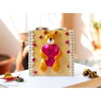 Teddy Bear themed fridge magnet