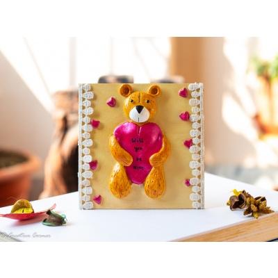 Creative Corner Teddy Bear themed Fridge magnet  Teddy Bear themed fridge magnet