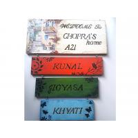 4 layered Handmade Name Plate