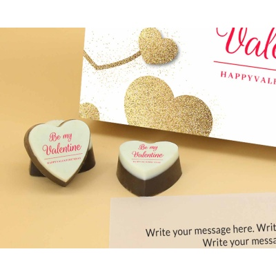 Heart Chocolates For Valentines Day 6 Pcs  Valentaine Day 01HAP3