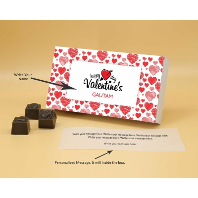 Lovely Chocolate Gift | Butter Scotch 18PCS  Valentaine Day 03BSNP2