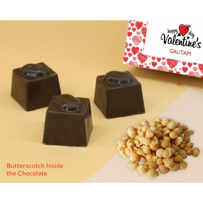 Lovely Chocolate Gift | Butter Scotch 18PCS  Valentaine Day 03BSNP3