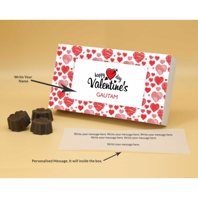 Lovely Chocolate Gift   Fruit  Nuts 18Pcs  Valentaine Day 03FNNP2