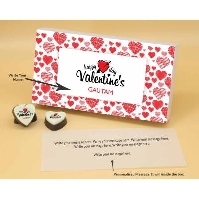 Romantic Heart Valentine Gift 12 Pcs  Valentaine Day 03HAP2