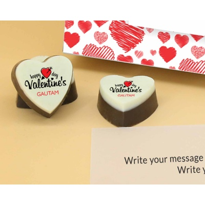 Romantic Heart Valentine Gift 12 Pcs  Valentaine Day 03HAP3