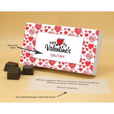 Roasted Almond Chocolates For Valentine 12Pcs  Valentaine Day 03RANP2