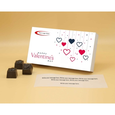 Customised Gift | Butter Scotch Chocolates 12Pcs  Valentaine Day 04BSNP1