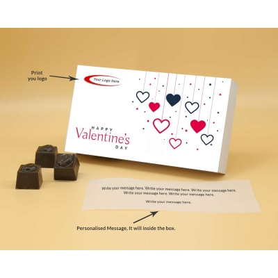 Customised Gift | Butter Scotch Chocolates 12Pcs  Valentaine Day 04BSNP2
