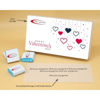 Valentine Chocolates With Wrappper Printed 12pcs  Valentaine Day 04FNWP2