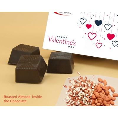 Chocolates For Valentine Gift | Almonds 6Pcs  Valentaine Day 04RANP3