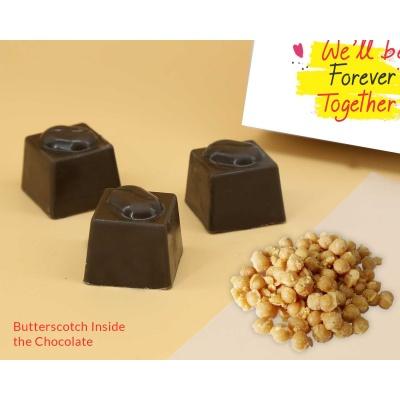 Chocolates For Valentine   Butter Scotch 6Pcs  Valentaine Day 05BSNP3