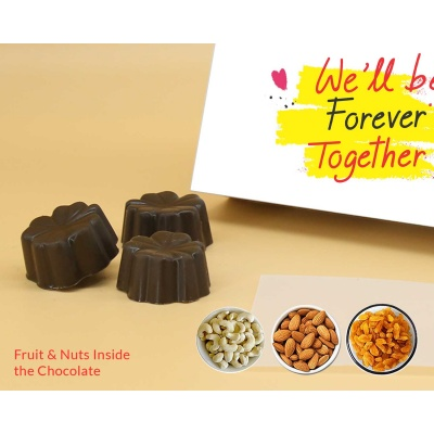 Chocolates For Valentine | Fruit  Nuts 6Pcs  Valentaine Day 05FNNP3