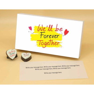 Customised Heart Chocolates For Couple 18 Pcs  Valentaine Day 05HAP1