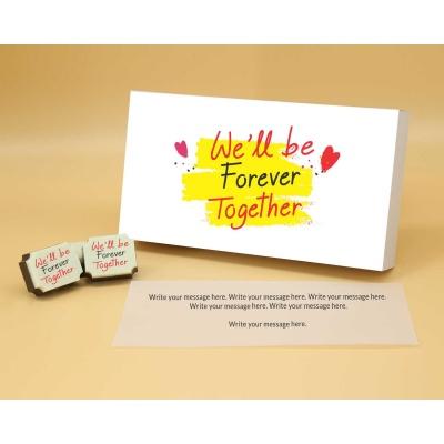 Customised Chocolates For Couple 18 Pcs  Valentaine Day 05RAP1