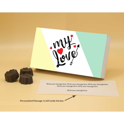 Fruit  Nuts Chocolates For Love 18Pcs  Valentaine Day 06FNNP2