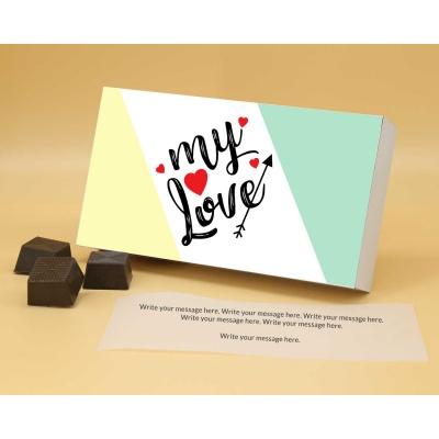 Best Gift For Valentine   Almond Chocolates 12Pcs  Valentaine Day 06RANP1