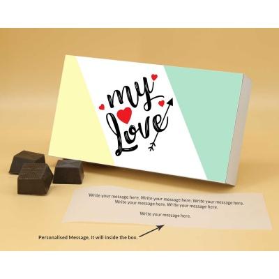 Best Gift For Valentine   Almond Chocolates 12Pcs  Valentaine Day 06RANP2
