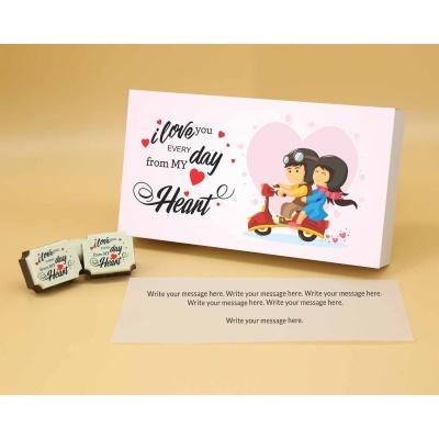Valentine Chocolate Box 6 Pcs  Valentaine Day 07RAPA