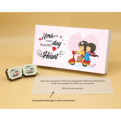 Valentine Chocolate Box 6 Pcs  Valentaine Day 07RAPB