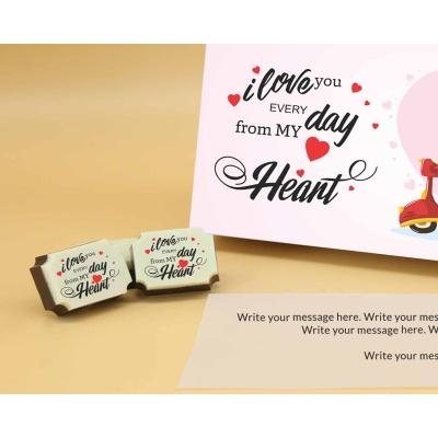 Valentine Chocolate Box 6 Pcs  Valentaine Day 07RAPC