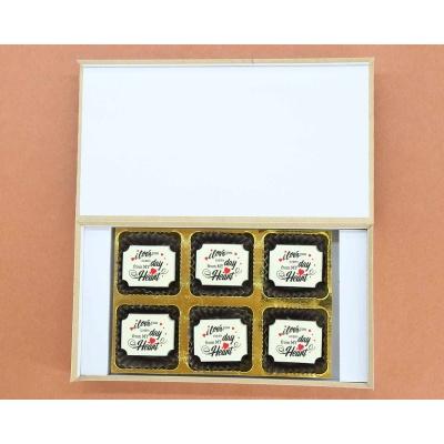 Valentine Chocolate Box 6 Pcs  Valentaine Day 07RAPD