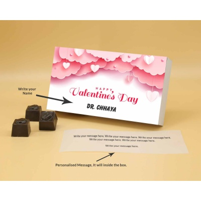 Personalised Chocolates | Butter Scotch 6Pcs  Valentaine Day 08BSNPB