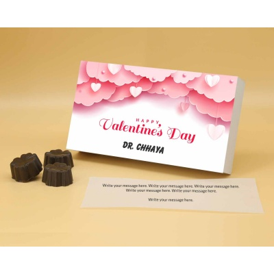 Personalised Chocolates | Fruit  Nuts 18Pcs  Valentaine Day 08FNNPA