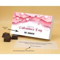 Customised Chocolates With Almonds 6Pcs  Valentaine Day 08RANPB
