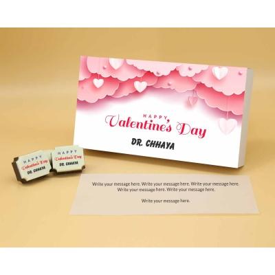 Name Printed Chocolate 18 Pcs  Valentaine Day 08RAPA